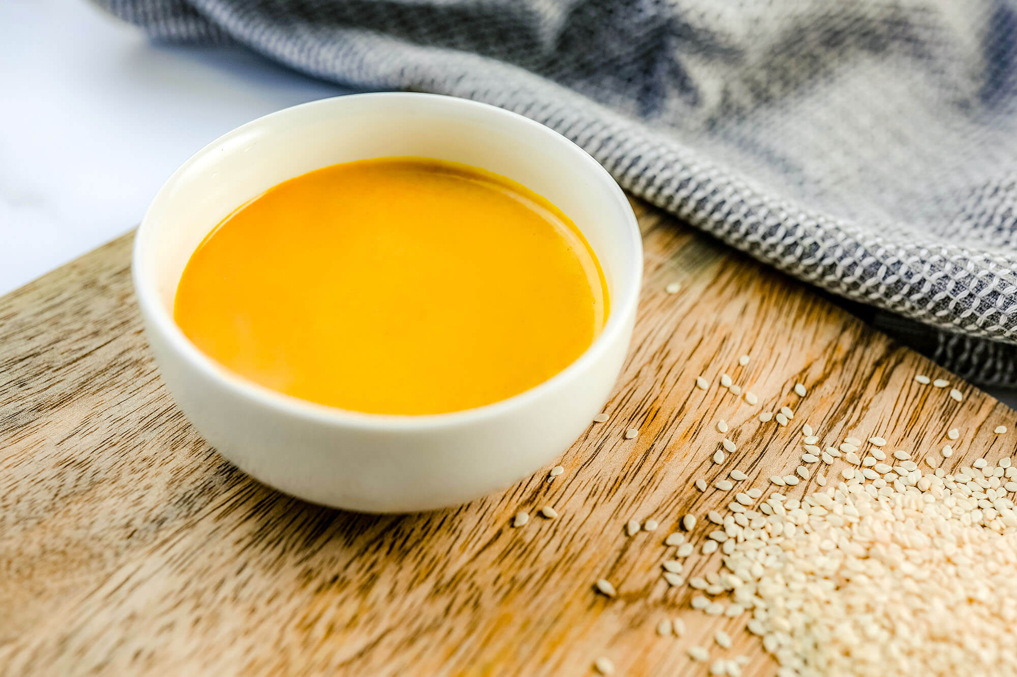 Plant-Based Meal Prep: 24-Carrot Gold Dressing