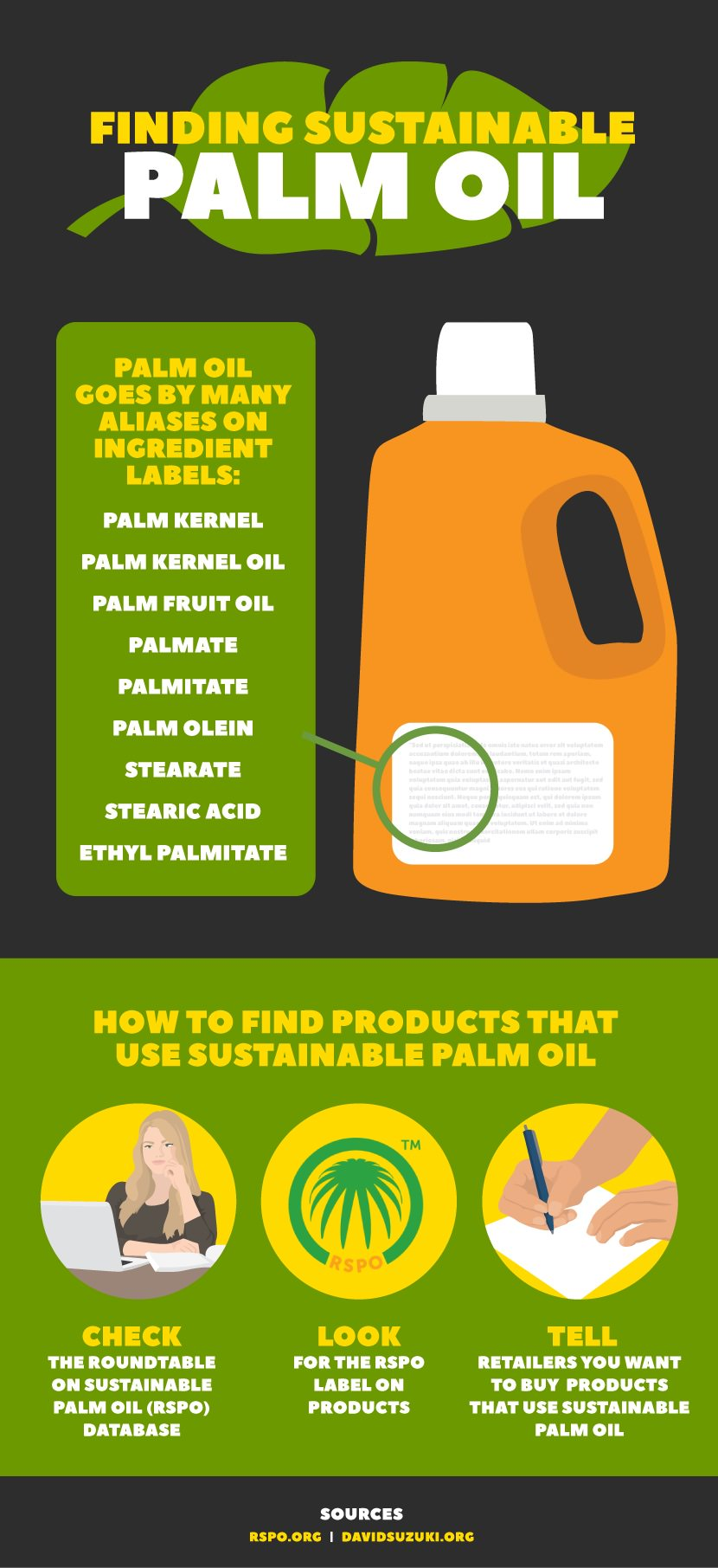 finding sustainable palm oil