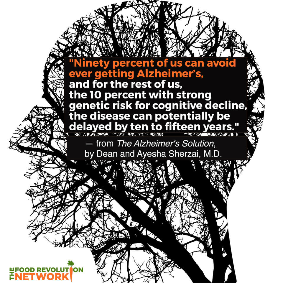 Alzheimer's prevention quote from The Alzheimer's Solution book