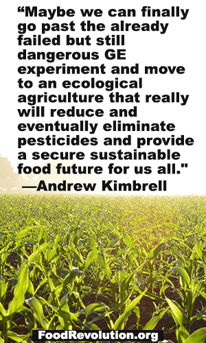 Future of food quote by Andrew Kimbrell