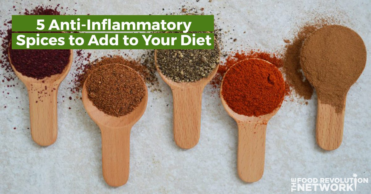 Heal Yourself and Avoid Chronic Disease with These 5 Powerful Inflammation-Fighting Spices