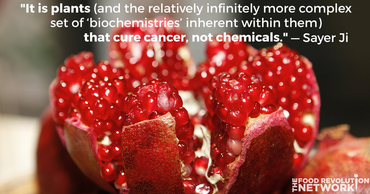 Pomegranate is a cancer-killing food