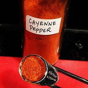 Cayenne pepper is an anti-inflammatory spice