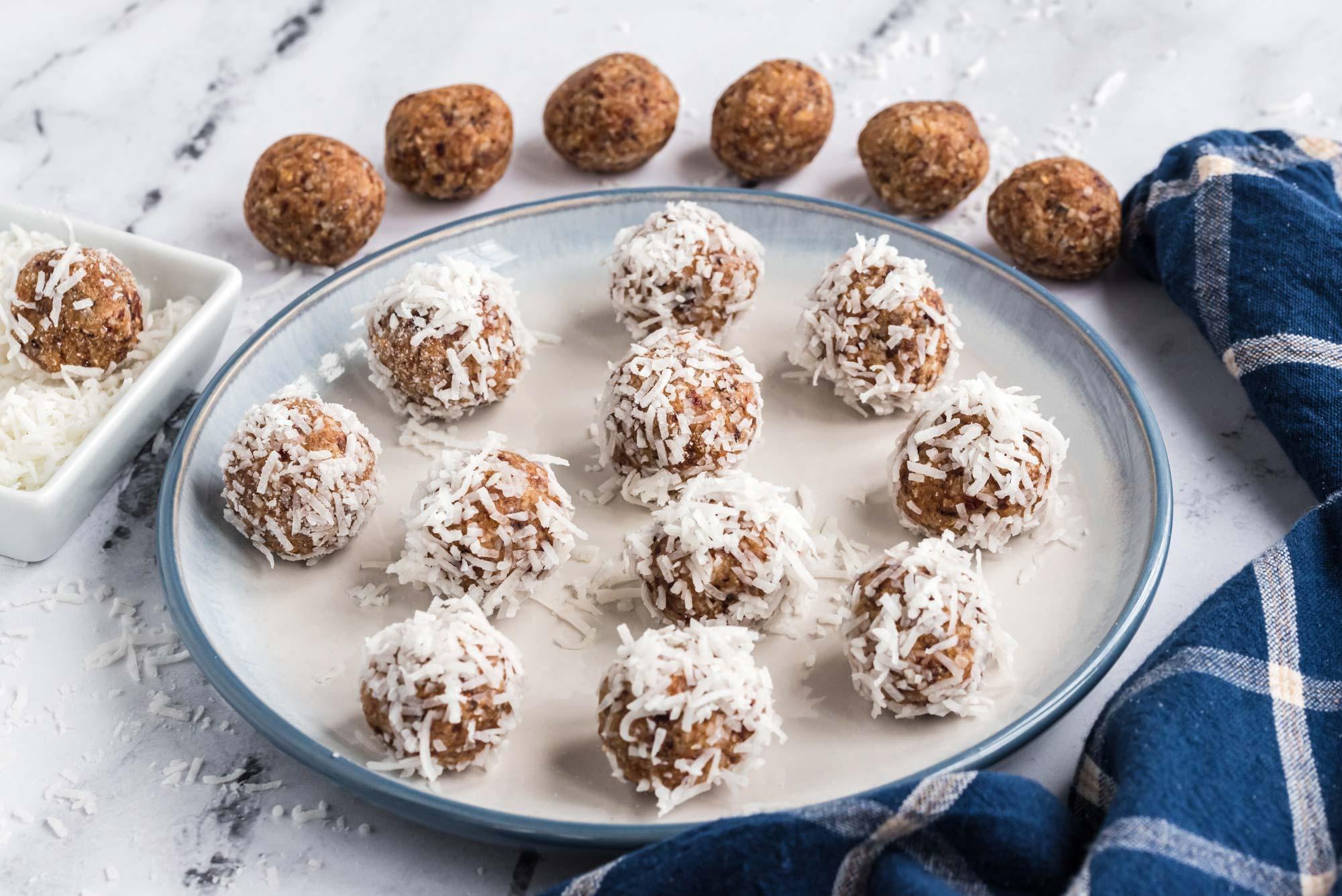 coconut cranberry snowballs