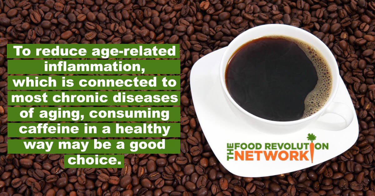 Coffee caffeine inflammation anti-aging