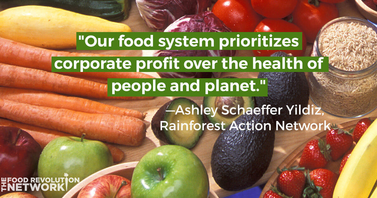 Corporate food system