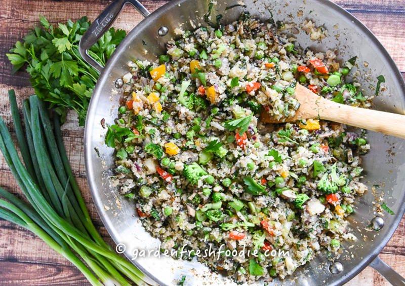 Revolutionary Recipe: Spring Cauliflower Rice