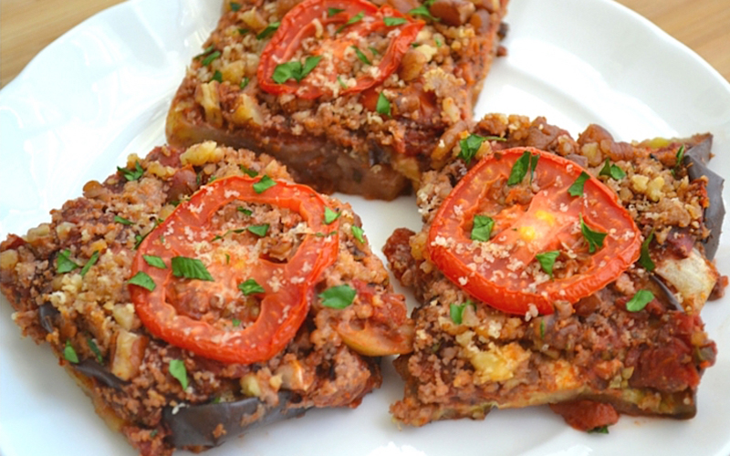 "Revolutionary Recipe: Eggplant ""Parmesan"" Made with Pecans"