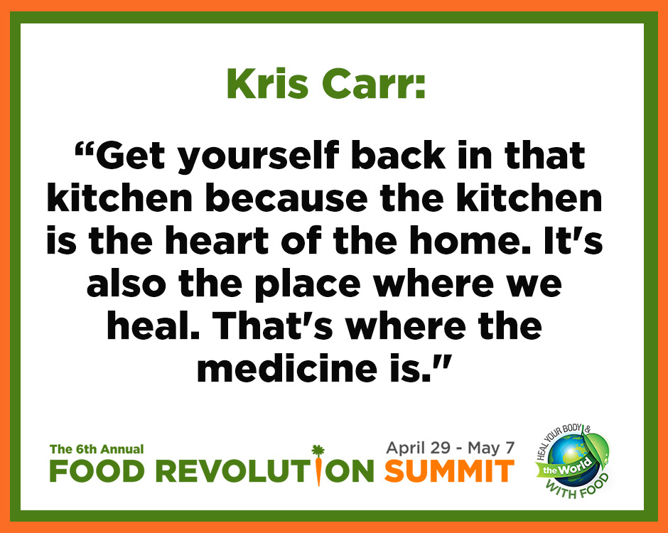 Kris Carr Talked About How To Take Charge Of Our Health She Shared With Us We Can Control By Living Gusto And Making Every Day