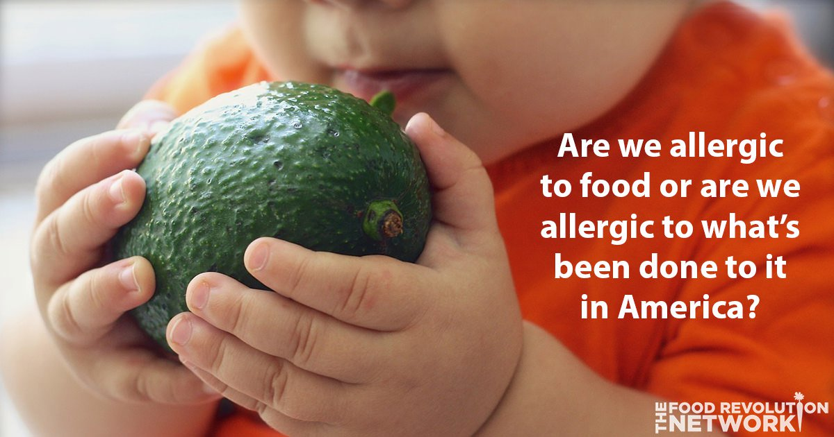 Food Allergies in America Continue to Rise: Are We Allergic to Food or What's Been Done To It?