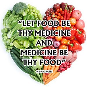 Food is medicine quote