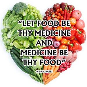 Food is medicine quote