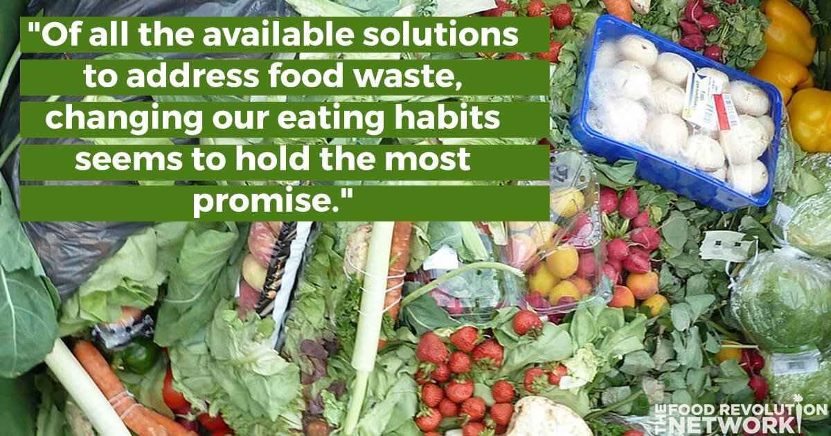Moving Towards A Plant-Powered Diet Could Be The Most Promising Solution to Food Waste
