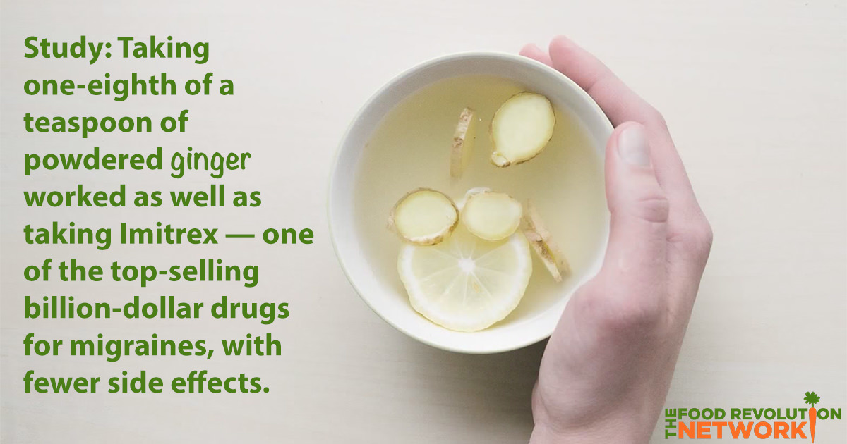 You Won't Believe How Powerful Ginger Can Be for Fighting Migraines Naturally