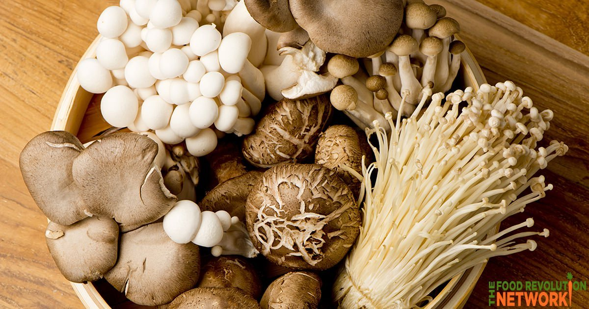 The health benefits of mushrooms
