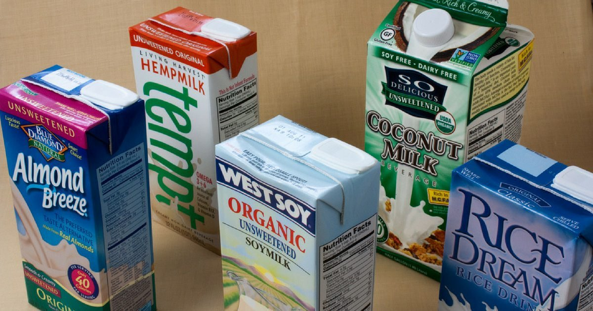 Healthiest plant-based milk