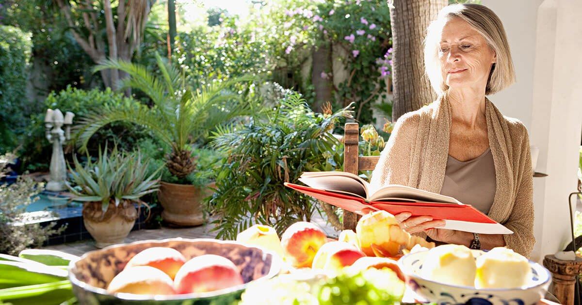 Healthy eating aging