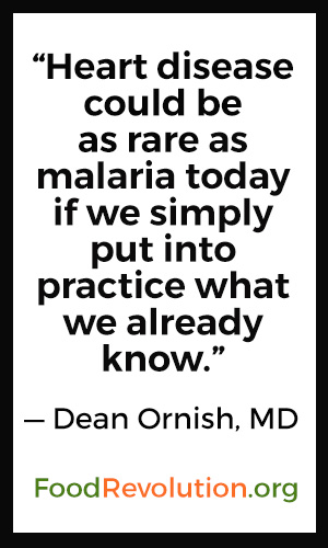 Heart disease quote by Dean Ornish, MD