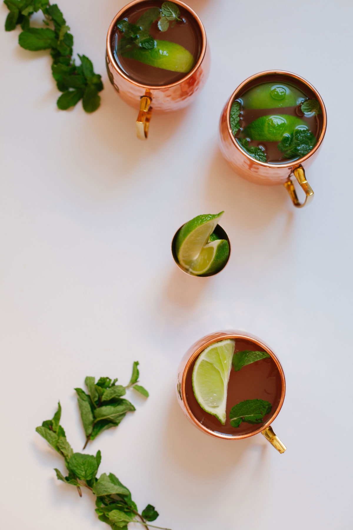 spiced kombucha moscow mules