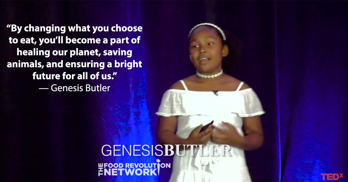 [Video] This 10-Year-Old Has An Inspiring and Empowering Vision for Healing Our Planet with Food