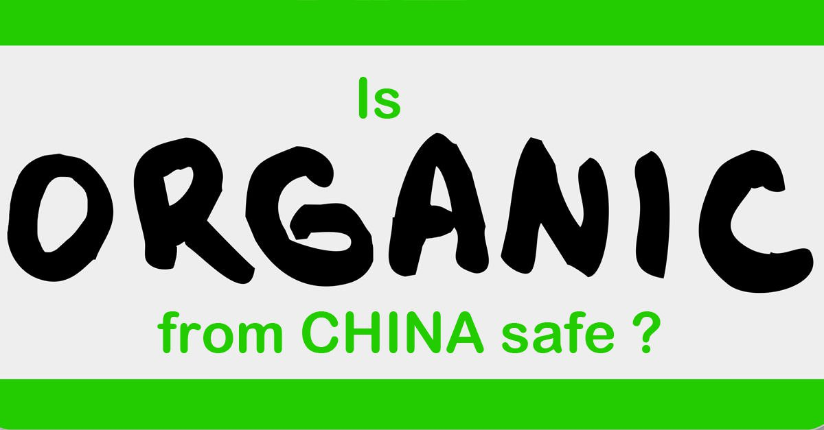 Safety of organic food from China