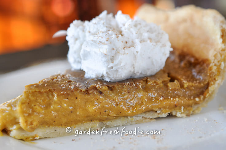 Revolutionary Recipe: Maple Pumpkin Pie