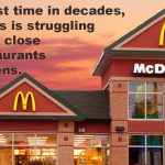 McDonald's closing restaurants