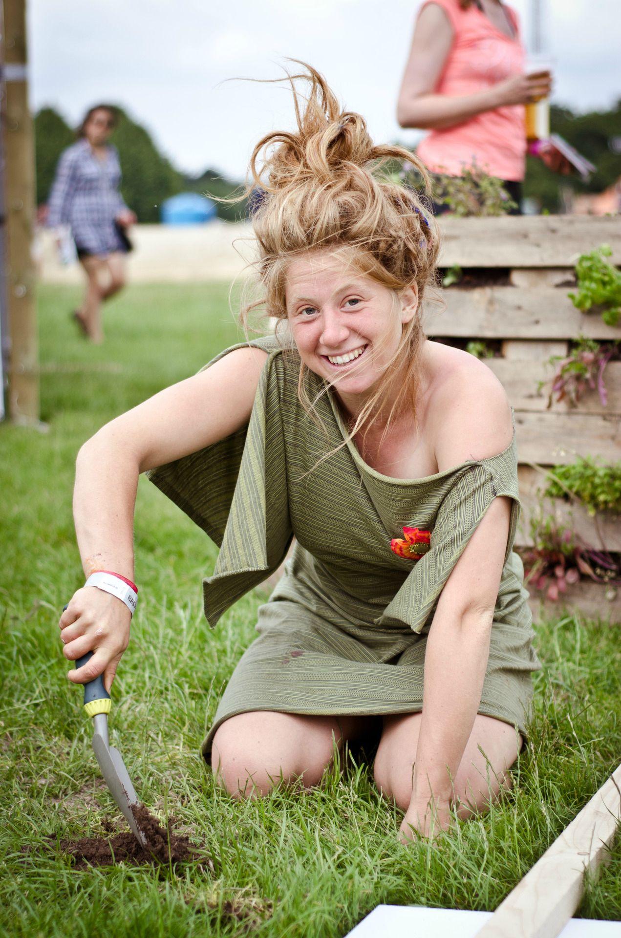 Maja, the guerrilla gardener