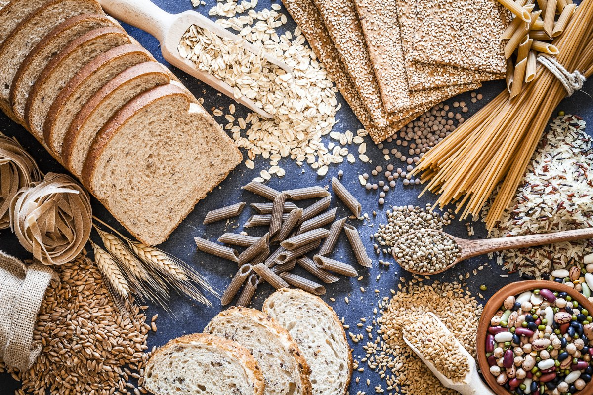Carbohydrates and refined grains