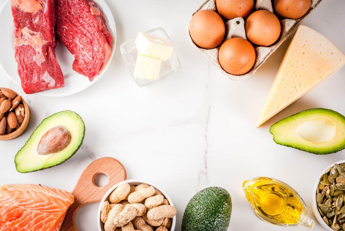 low-carb keto diet foods