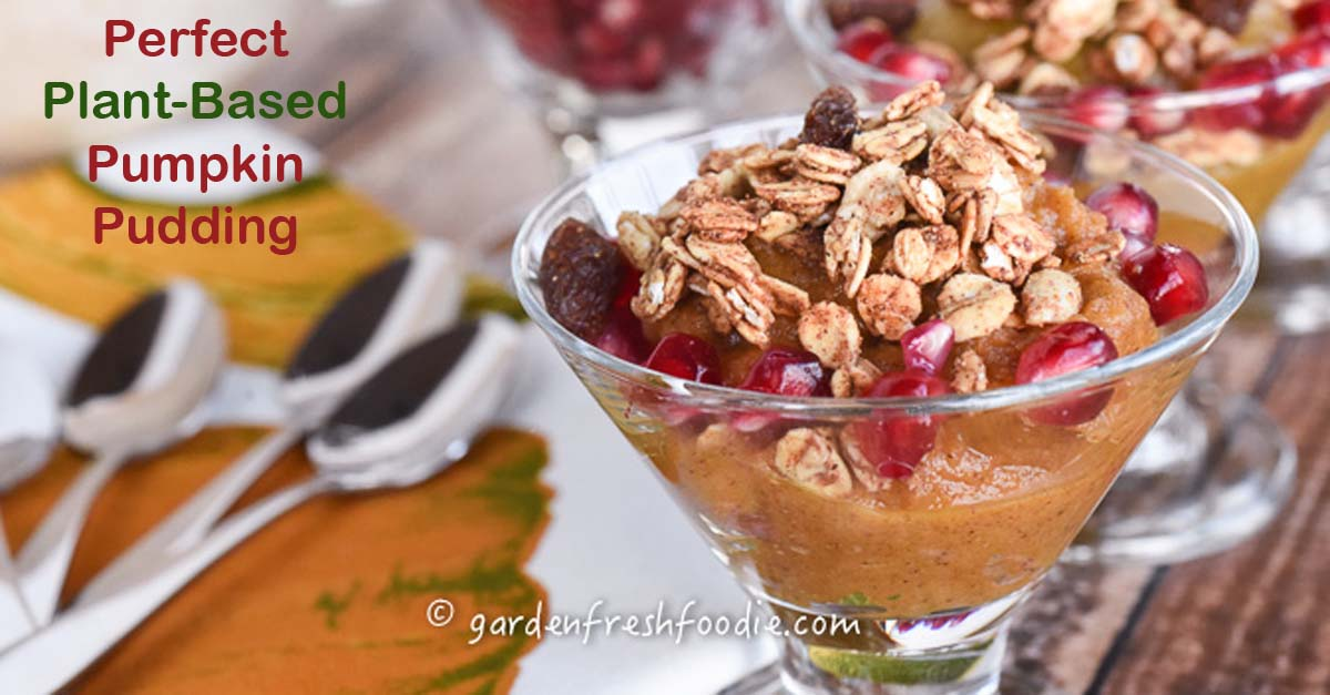 Plant-Based Pumpkin Pudding