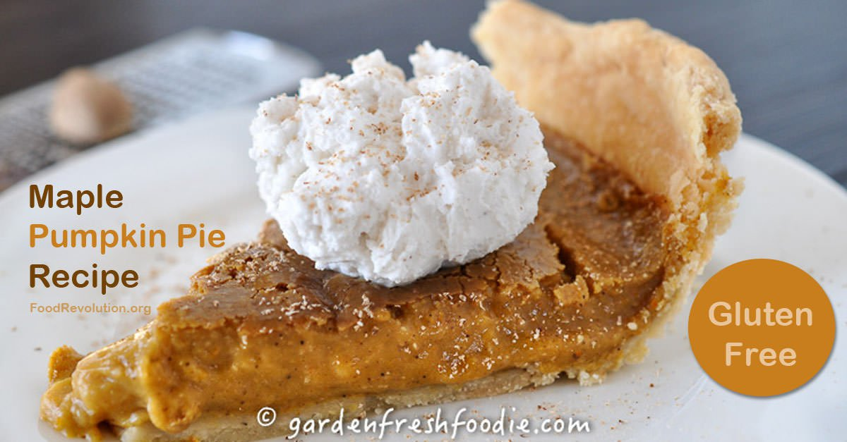 Plant-Based Recipe for Pumpkin Pie