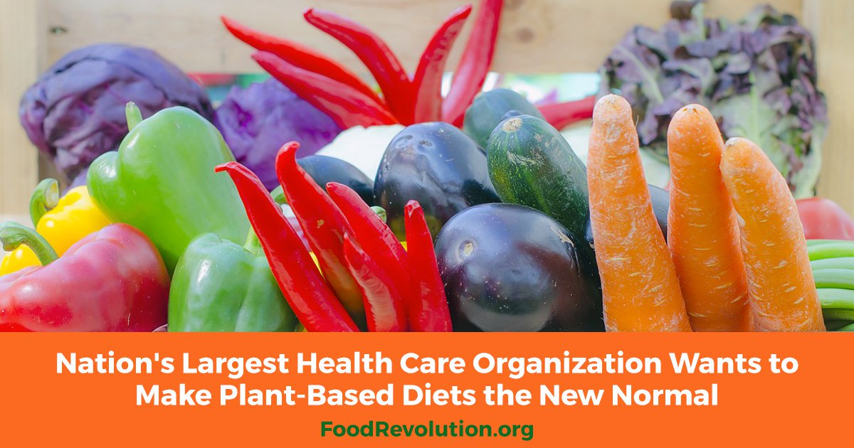 Making plant-based diets the new normal