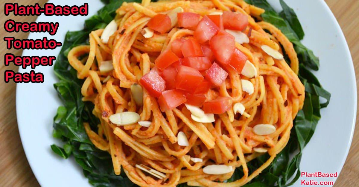 Tomato-pepper pasta