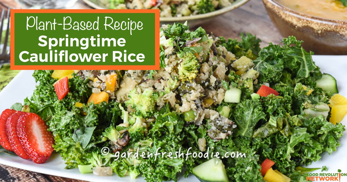Revolutionary Recipe: Spring Cauliflower Rice