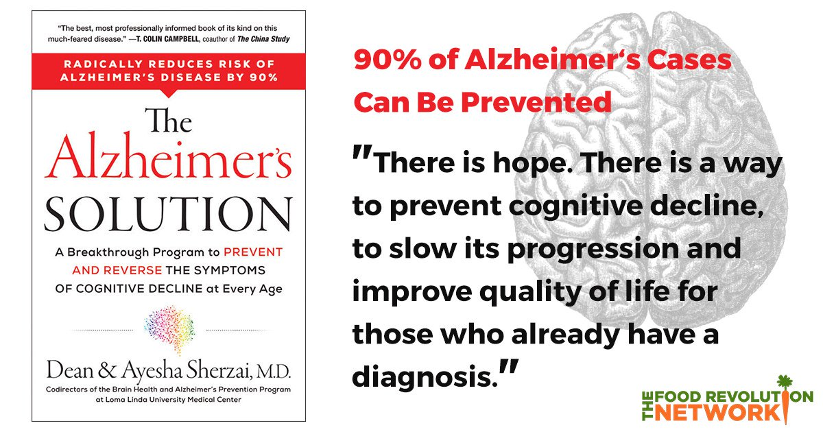 New Book Shows How 90% of Alzheimer's Cases Are Preventable