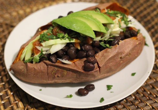 Southwestern Stuffed Sweet Potato Recipe