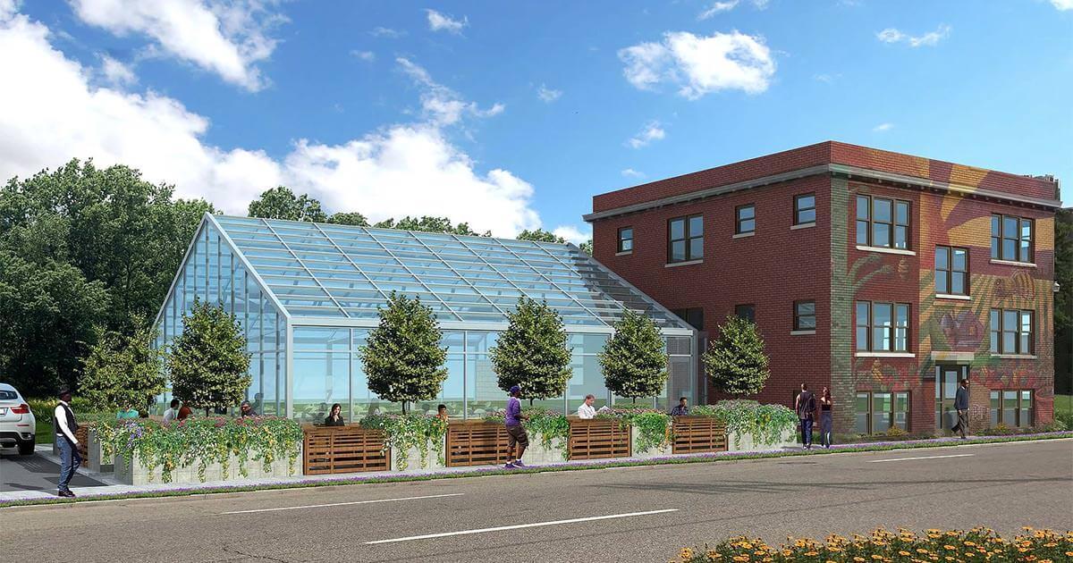 Sustainable Urban Agrihood in Detroit