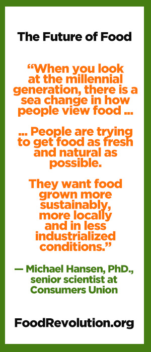 Quote about the future of food