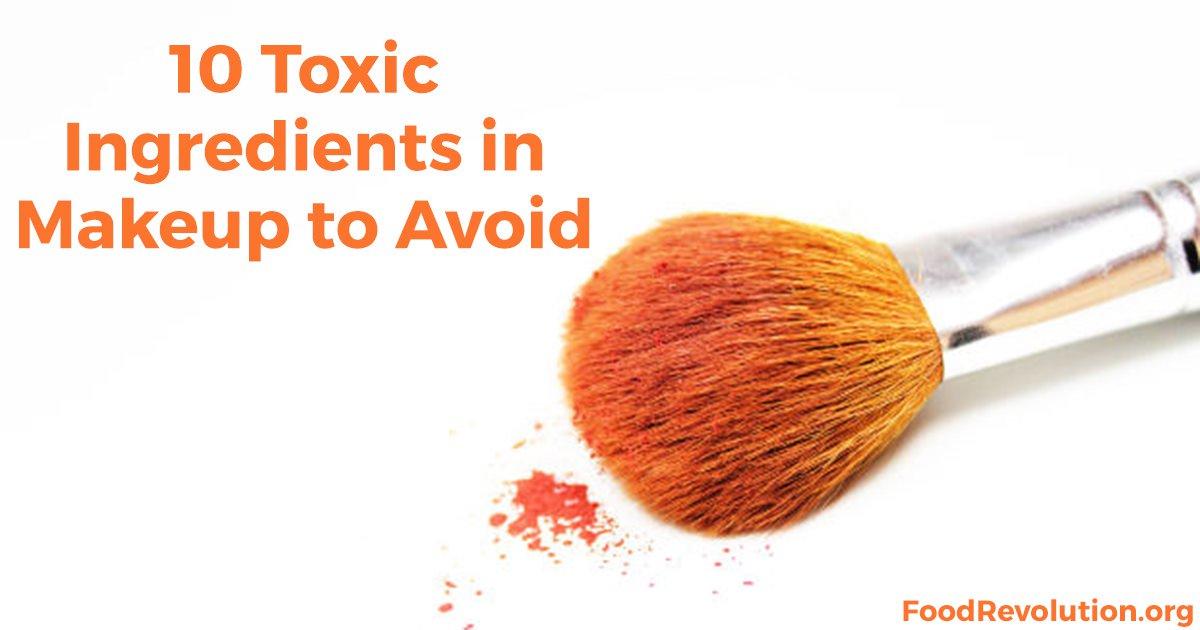 Toxic ingredients in makeup