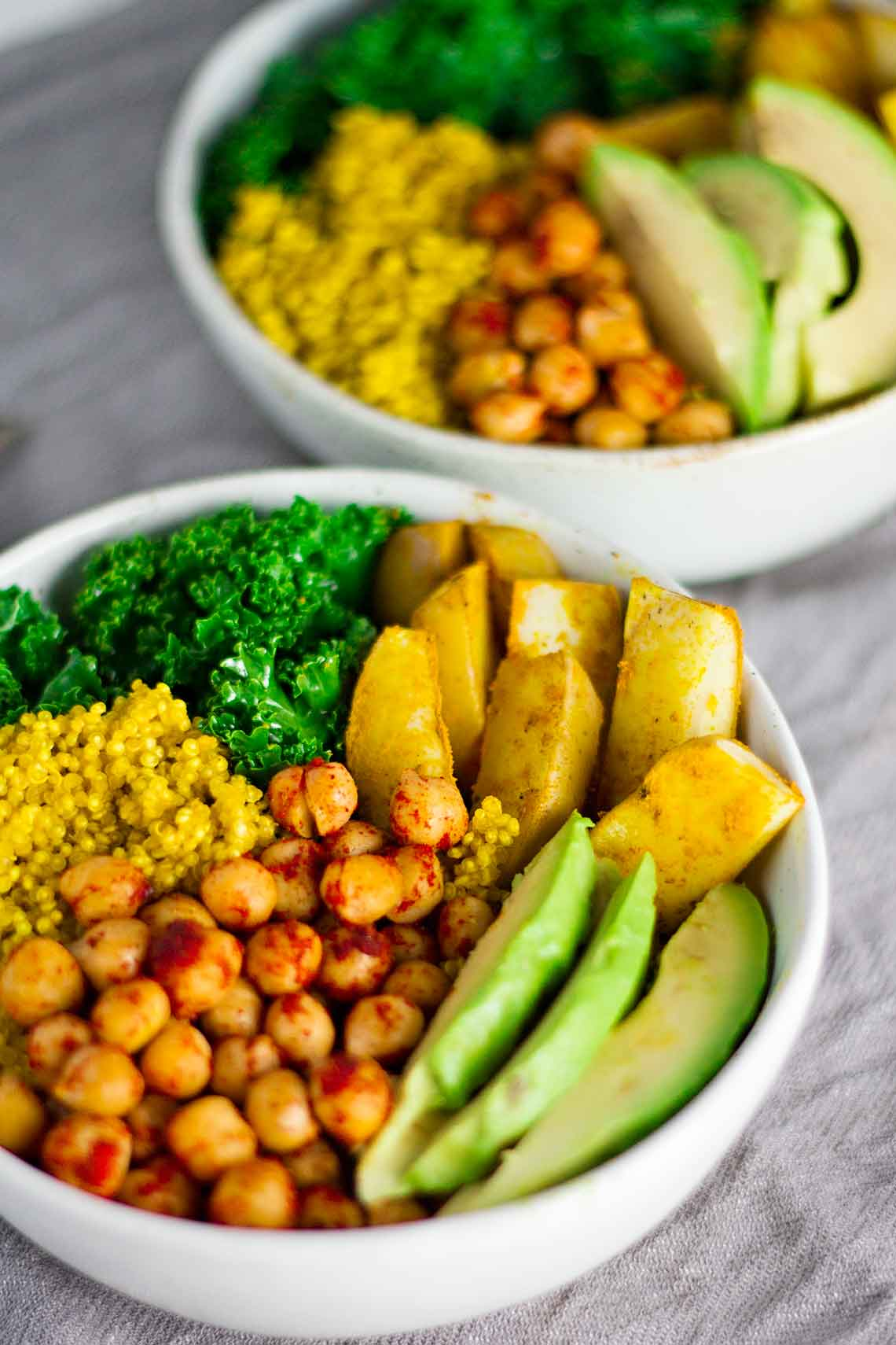 Vegan Turmeric Quinoa Power Bowl