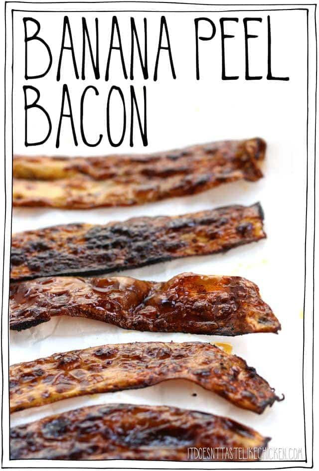 banana peel bacon