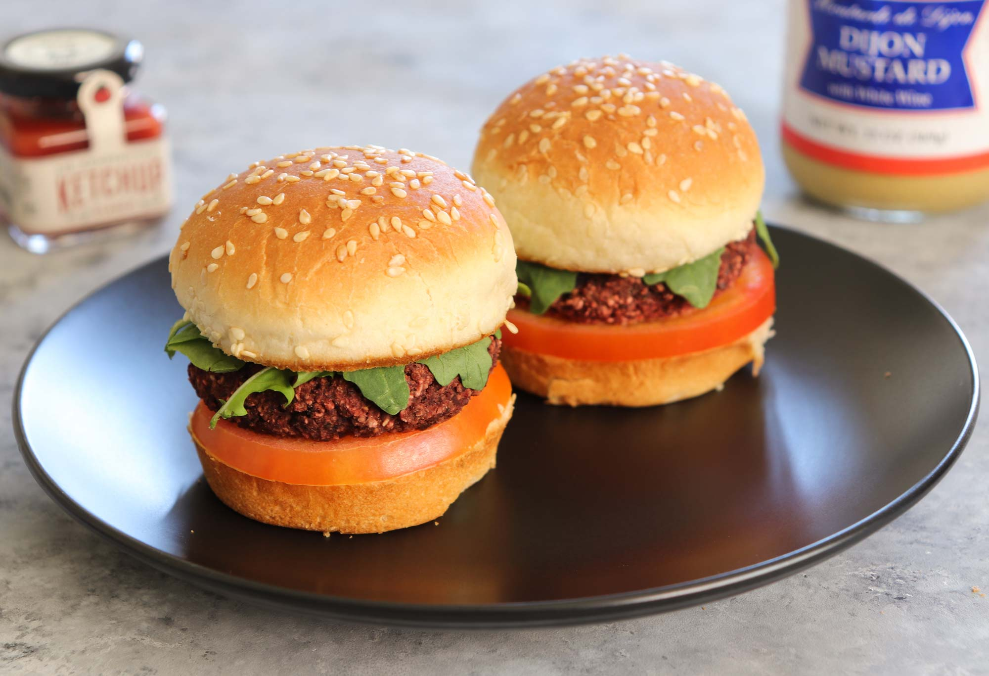 Plant-based dinner recipes: Beet burgers