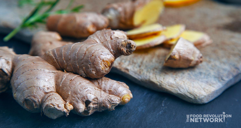 Anti-inflammatory diet: ginger root