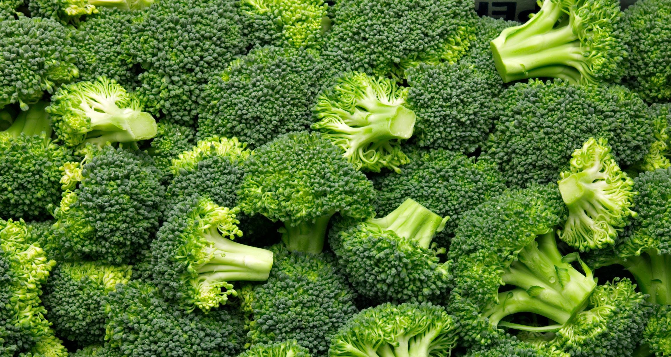 pile of broccoli