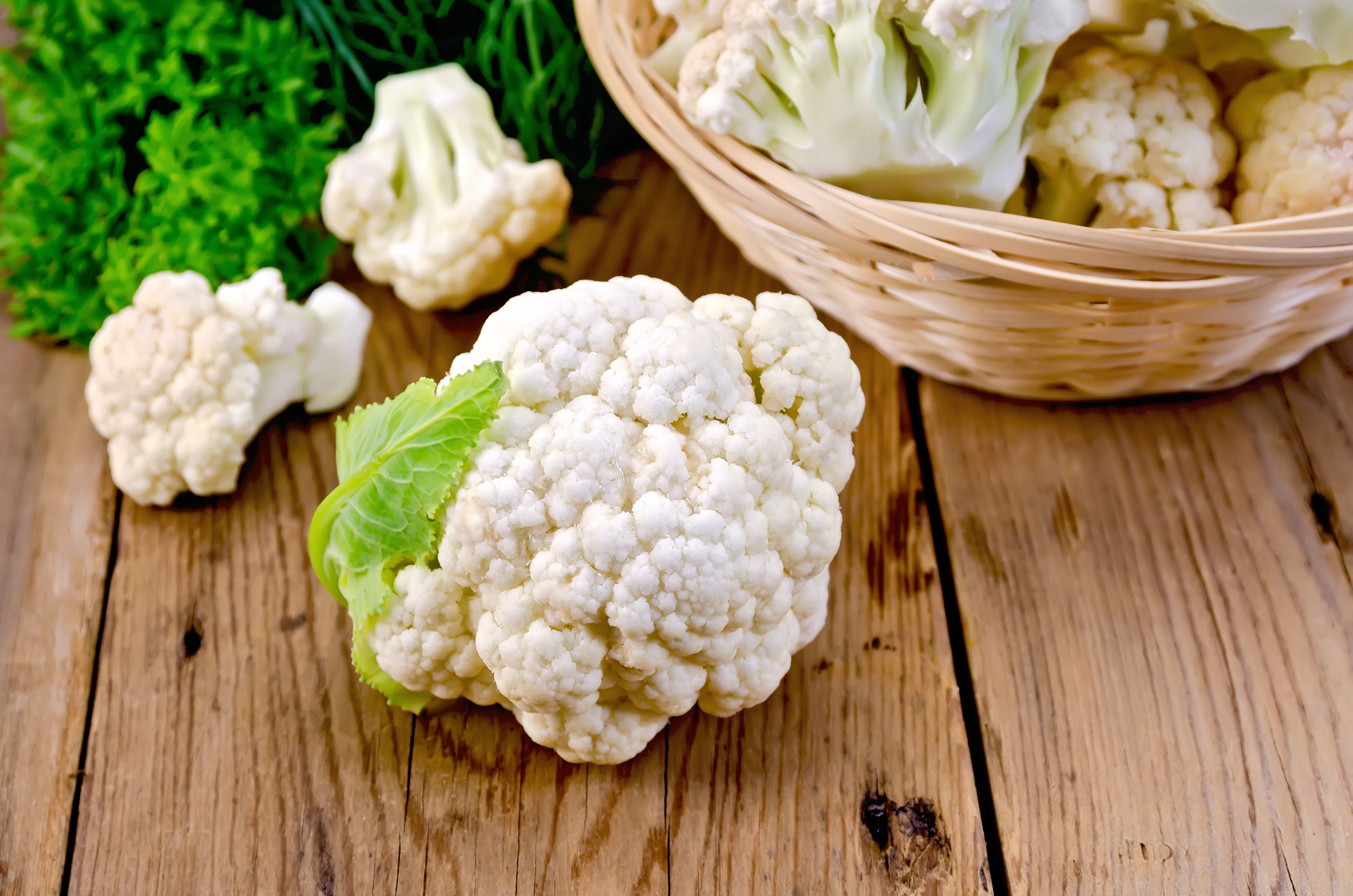 Fall fruits and vegetables: what's in season? Cauliflower
