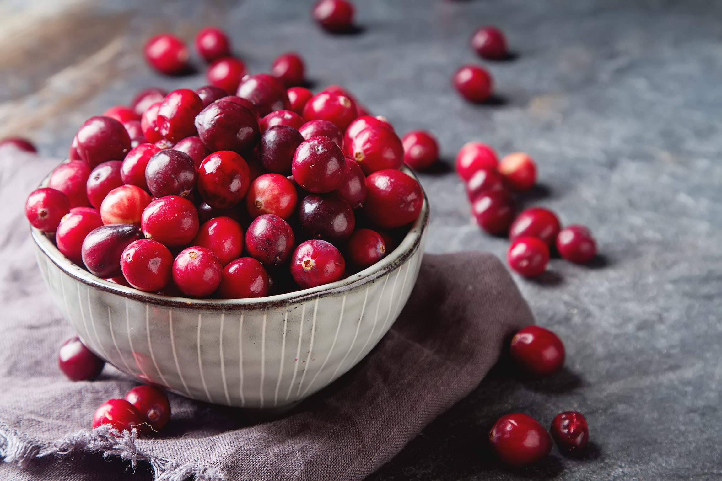 Fall fruits and vegetables: what's in season? Cranberries