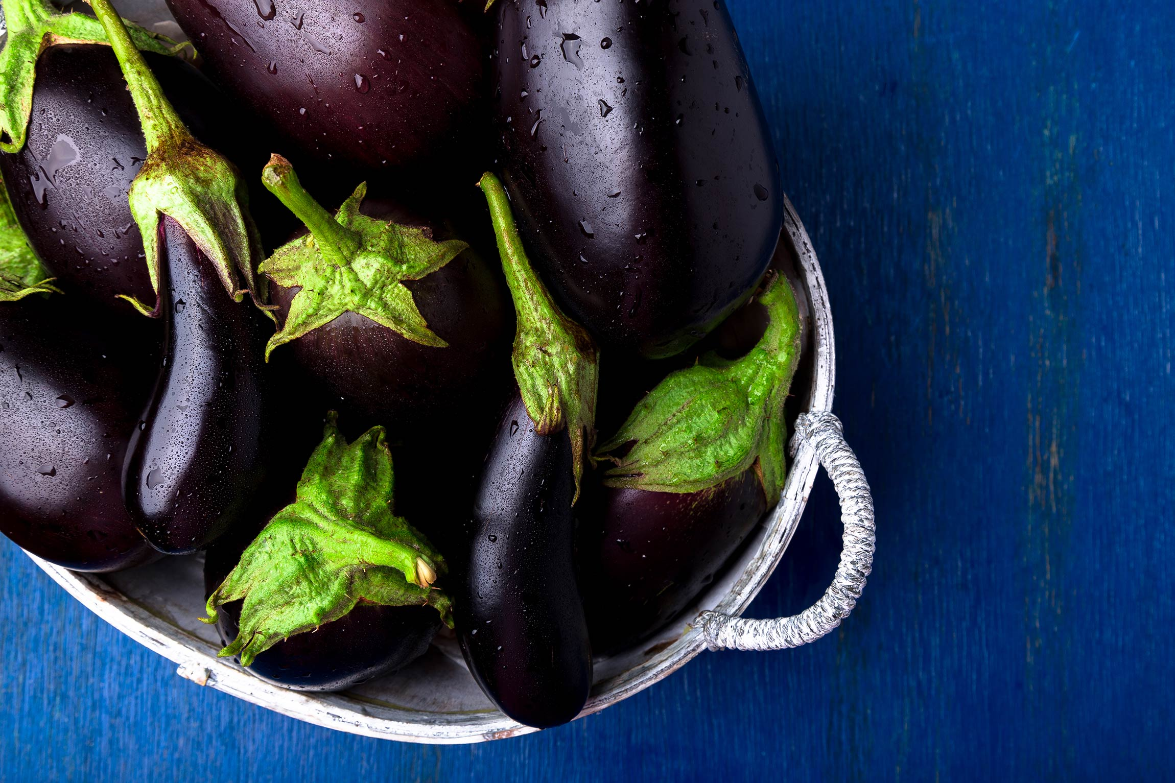 Fall fruits and vegetables: what's in season? Eggplant
