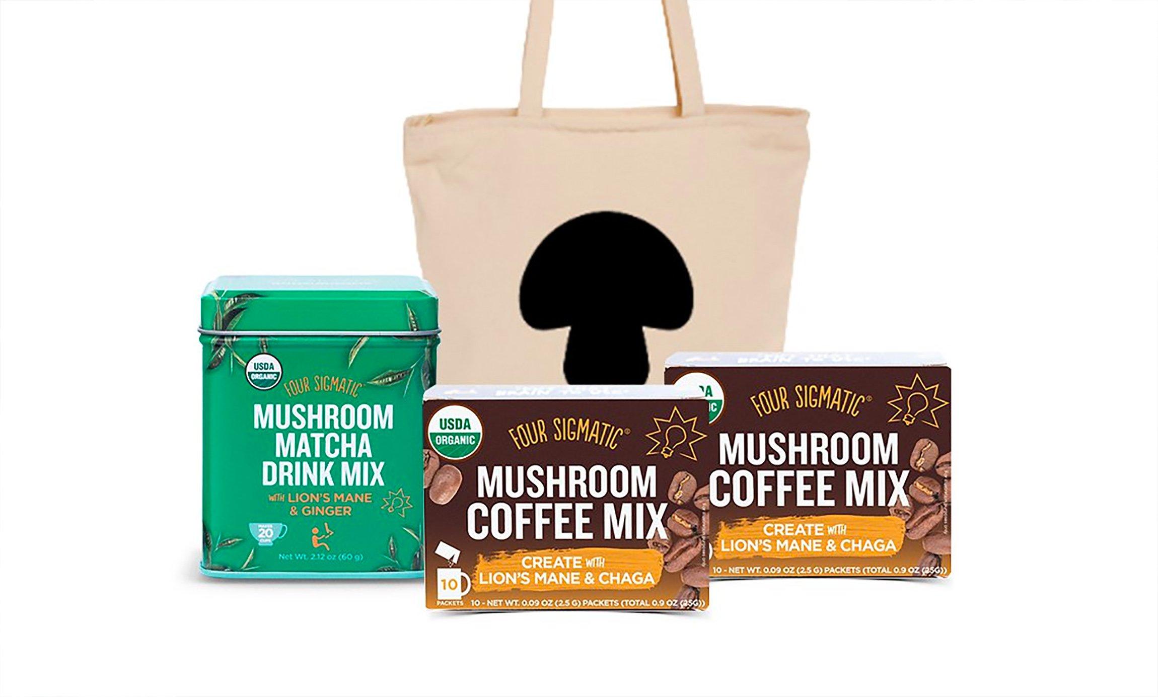 Mushroom drink mixes