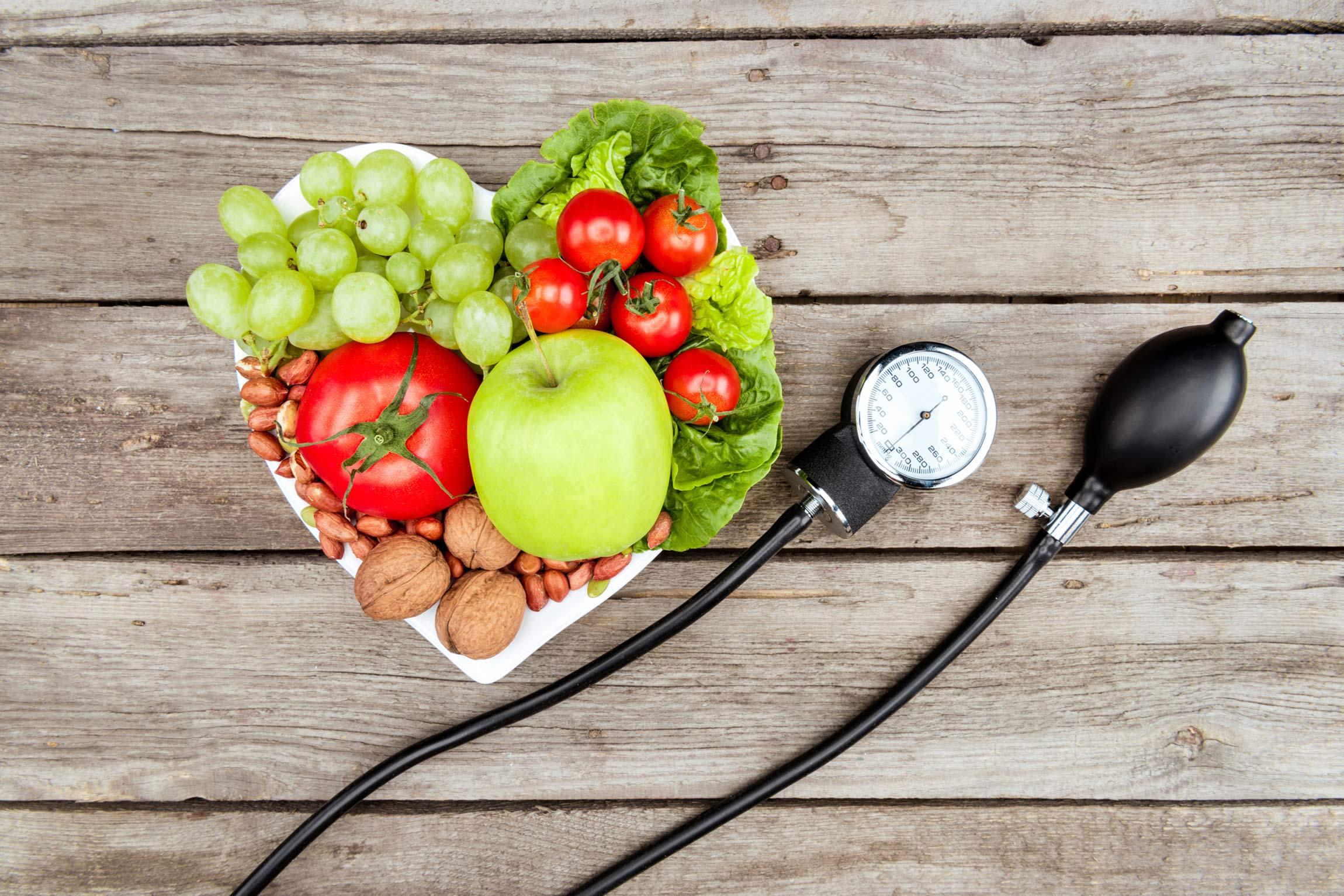 food and blood pressure